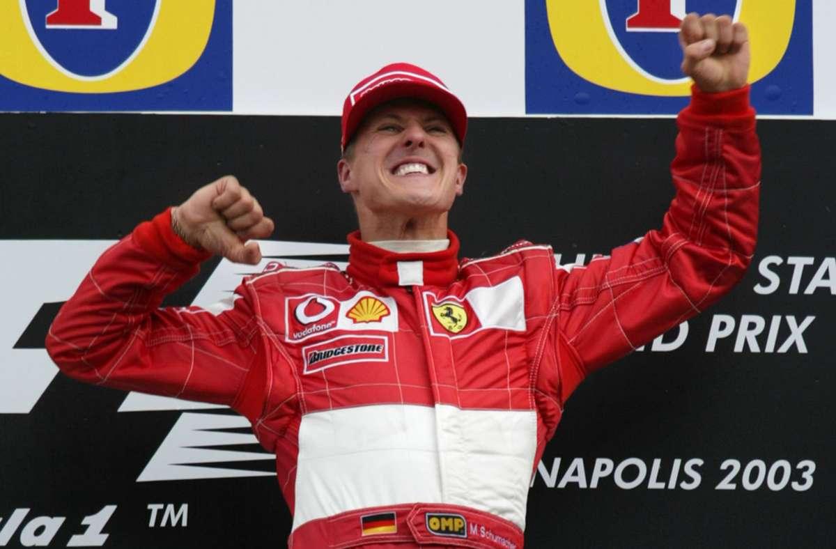 Michael Schumacher führte Ferrari durch die erfolgreichste Zeit in der Formel 1 und wurde von 2000 bis 2004 Weltmeister. Foto: AP
