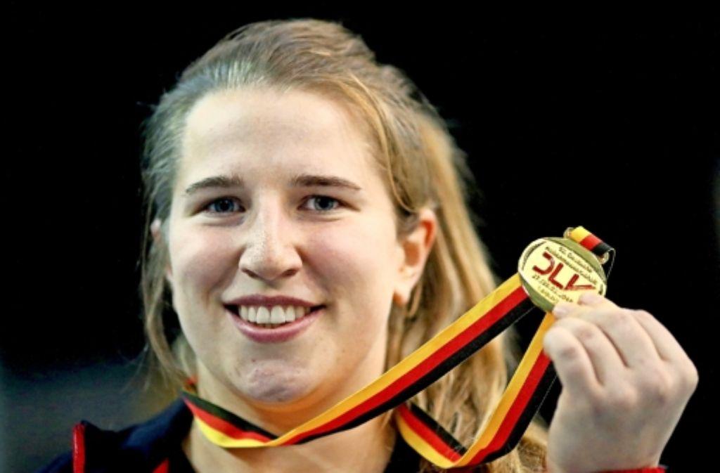 Stuttgarter Titelgewinnerin: Lena Urbaniak Foto: dpa
