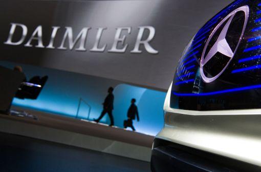 Daimler rechnet mit steigenden CO2-Werten seiner Autos