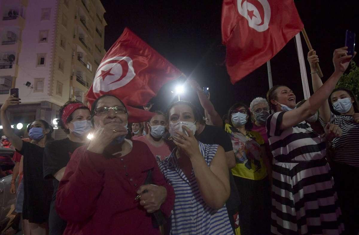 Die Lage in Tunesien ist angespannt. Foto: AFP/FETHI BELAID