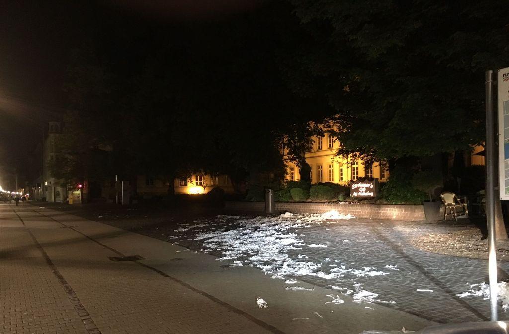 Nicht zum ersten Mal sorgten Abiturienten in Heidelberg für Unruhe. Foto: Polizeipräsidium Mannheim