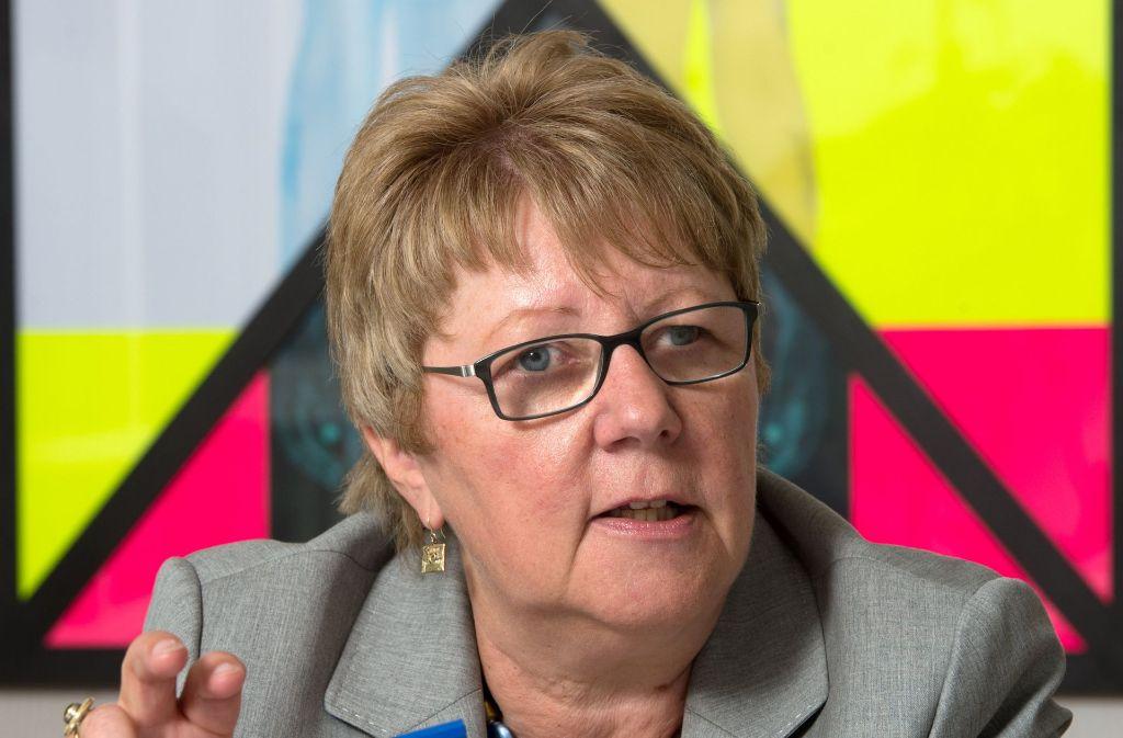 Keine Verlängerung für Lotto-Chefin Marion Caspers-Merk Foto: dpa