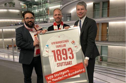 Warum der VfB Stuttgart auch  im Bundestag präsent ist