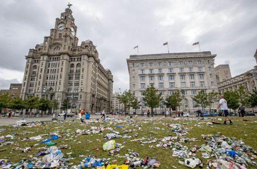 FC Liverpool verurteilt wilde Fan-Feiern