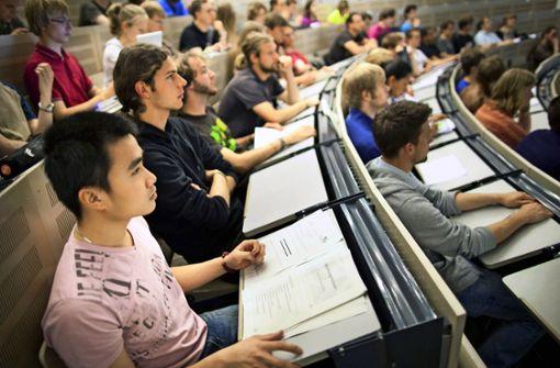 Studenten aus Afrika bleiben weg