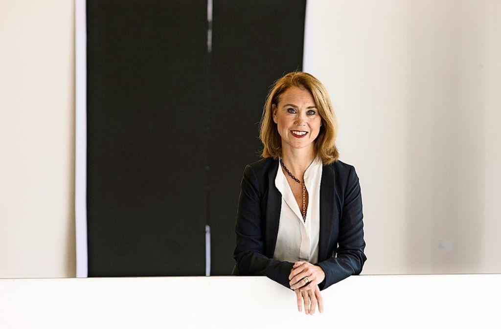 Anerkannte Expertin: die Stuttgarter Rektorin Petra von Olschowski Foto: Martin Lutz/Kunstakademie