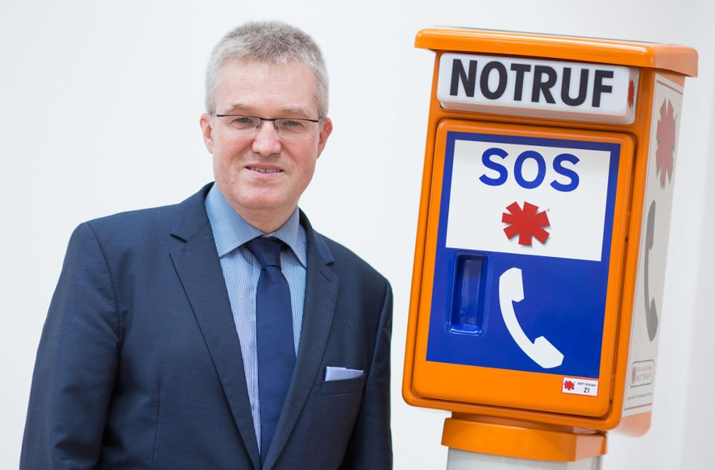 Pierre-Enric Steiger, der Präsident der Björn-Steiger-Stiftung. Foto: dpa