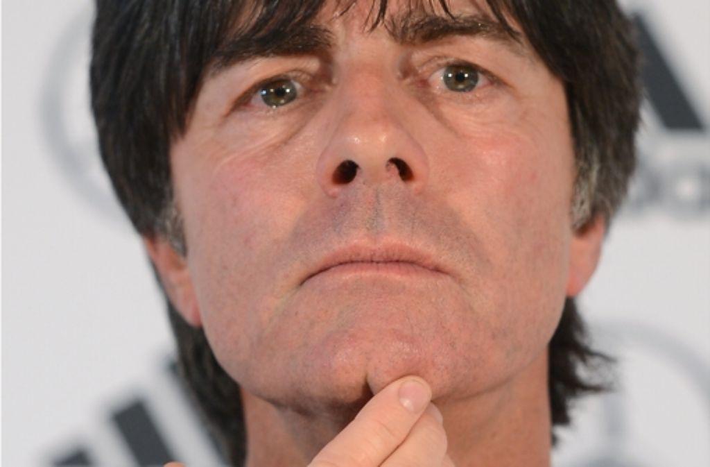 Der Bundestrainer Foto: dapd