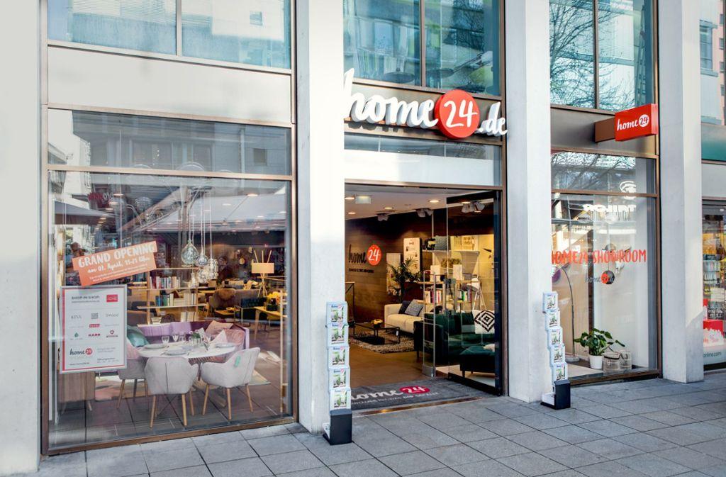 Home24: Ein Online-Händler neu auf der Königstraße Foto: home24