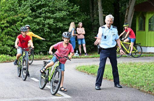Damit Kinder mit dem Rad sicher unterwegs sind