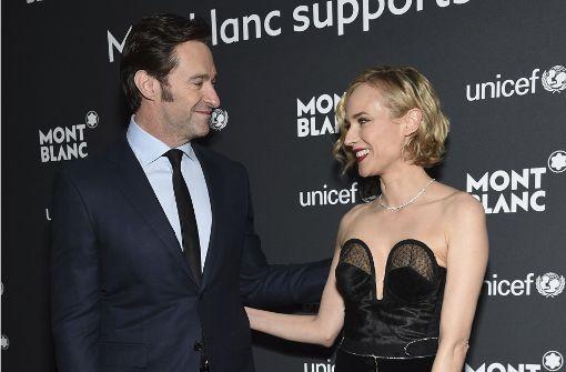 Hugh Jackman und Diane Kruger strahlen für den guten Zweck