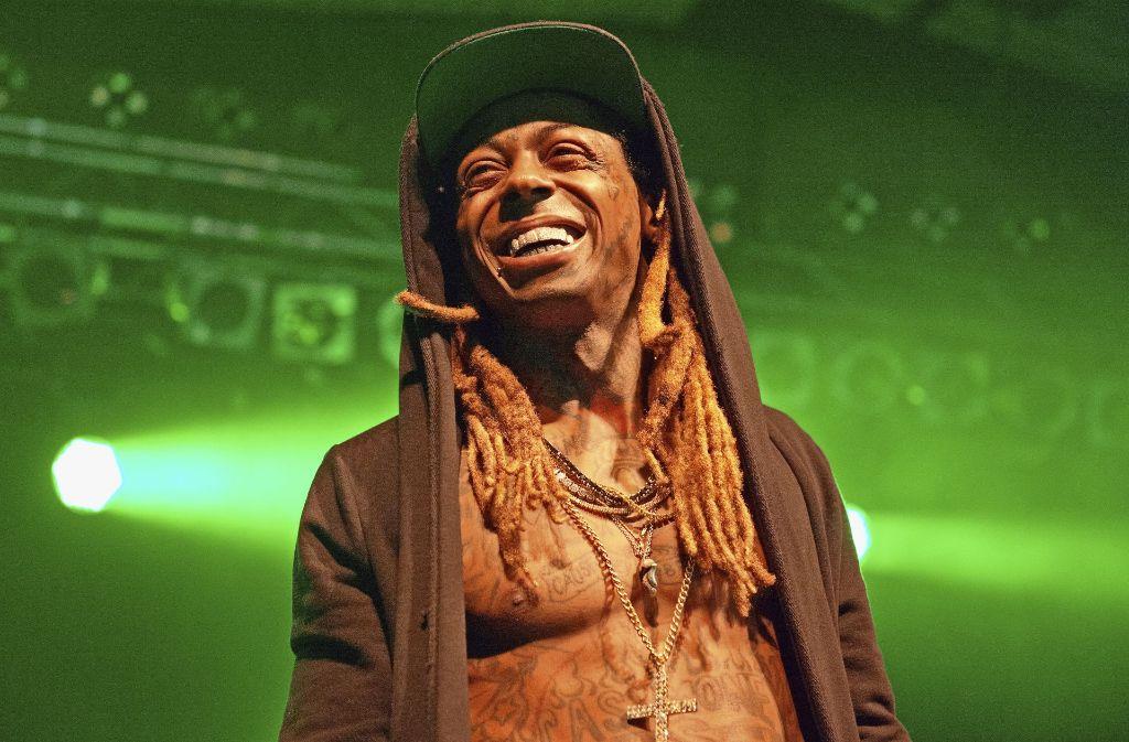 Lil Wayne hat sich im LKA dieEhre gegeben – exakt 59 Minuten lang. Foto: Lichtgut/Oliver Willikonsky
