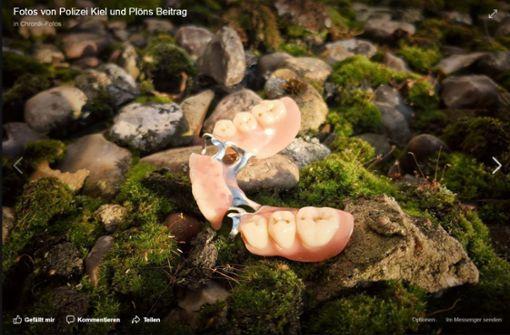 Polizisten retten nagelneue dritte Zähne von Seniorin