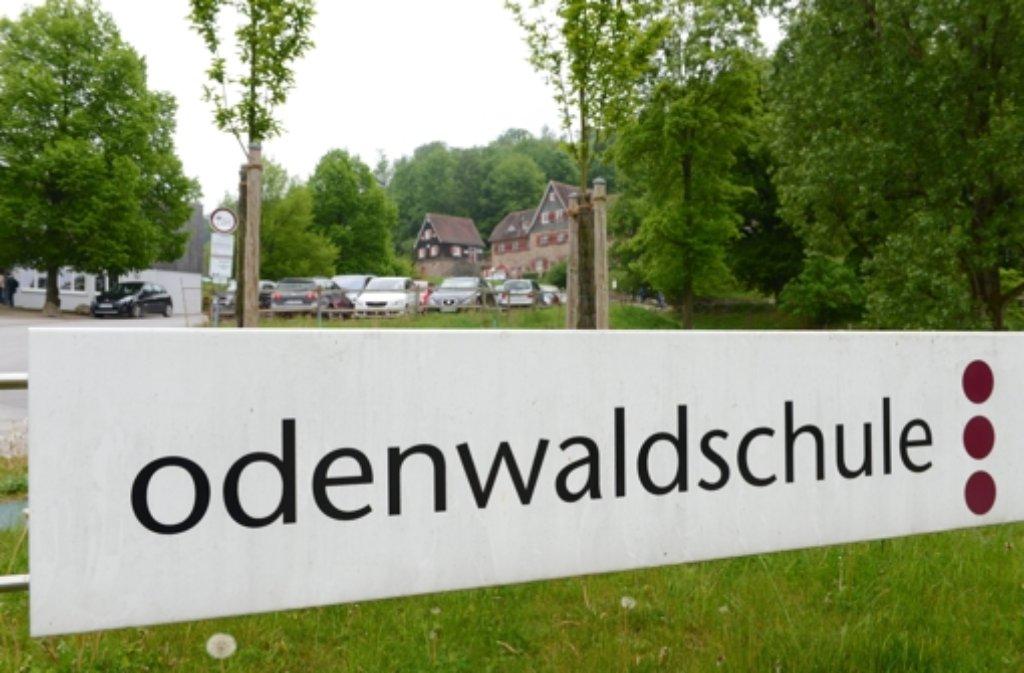 Die Odenwaldschule bei Heppenheim Foto: dpa