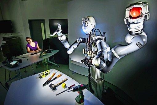 Der Roboter soll das Lernen lernen