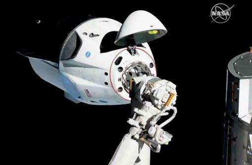 Elon Musks Raumschiff erreicht die ISS
