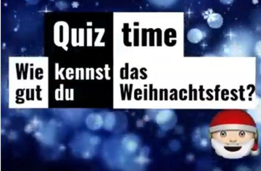 Wie gut kennen Sie das Weihnachtsfest?