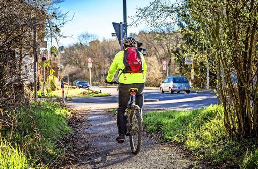 Das  Radwegenetz in Botnang soll ausgebaut werden