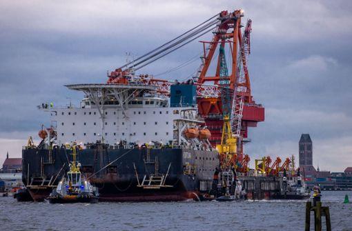 Nord Stream 2 bleibt ein transatlantischer Zankapfel