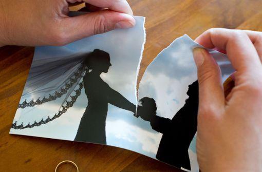 Zahl der Scheidungen geht zurück