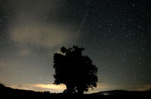 Die Lyriden funkeln am Nachthimmel