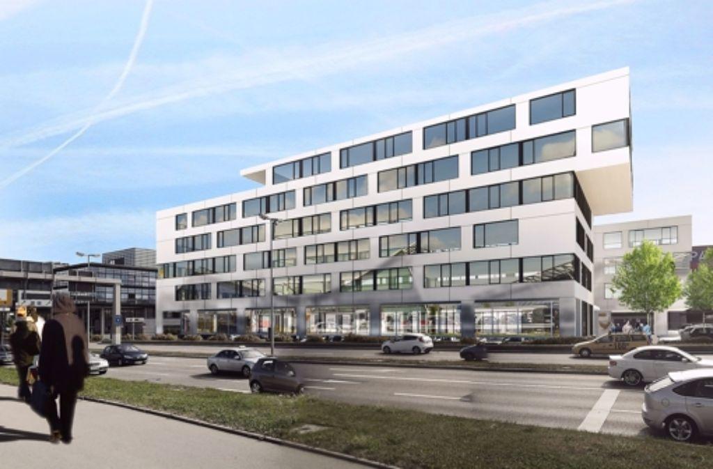 Die FSG will ihr neues Verwaltungsgebäude über einer bestehenden Tiefgarage  bauen. Foto: asp Architekten Stuttgart