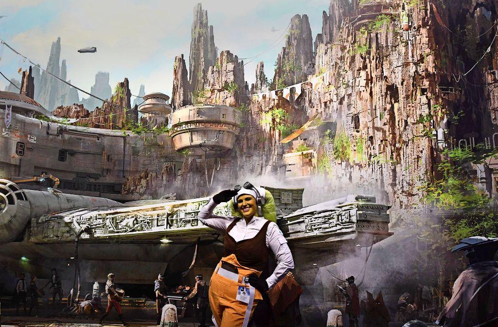 """Der Fanclub """"D23"""" stellt Disneys """"Star Wars"""" nach: ein Beweis für Markenmacht. Foto: AFP"""
