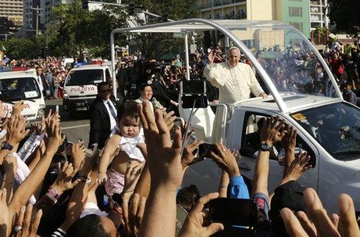 Manila verabschiedet Franziskus
