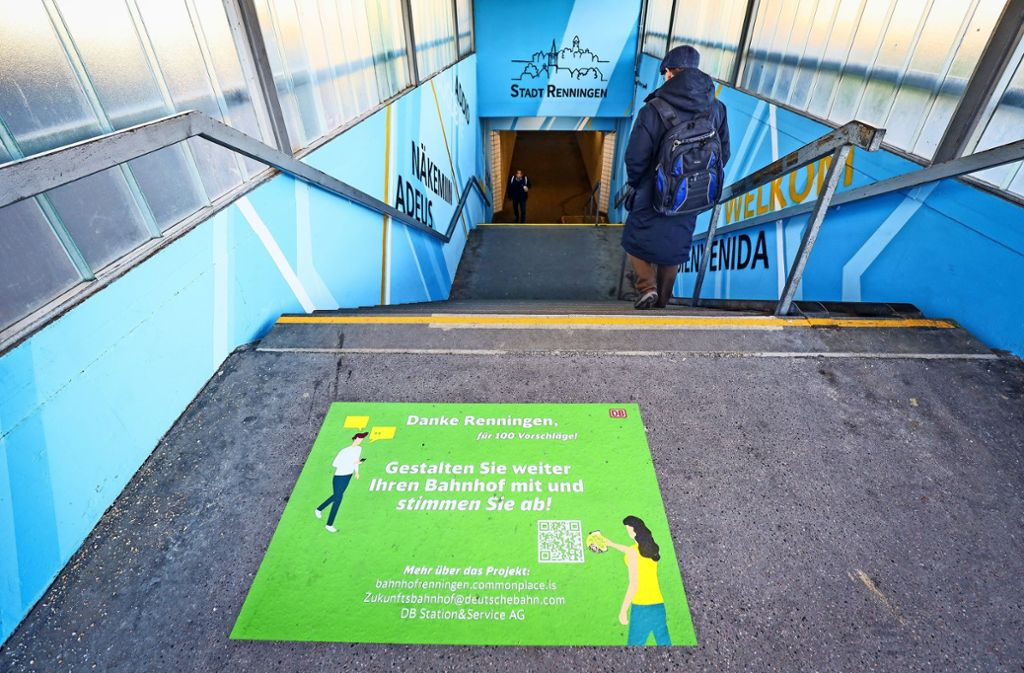 Wie soll der Bahnhof Renningen sich entwickeln? Dazu hat die Bahn auch Bürger befragt. Foto: factum/Simon Granville