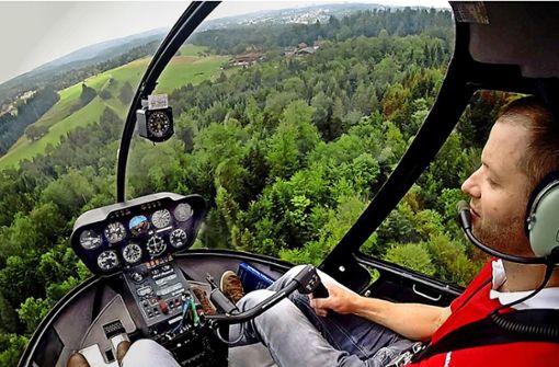 Die Samariter im Helikopter