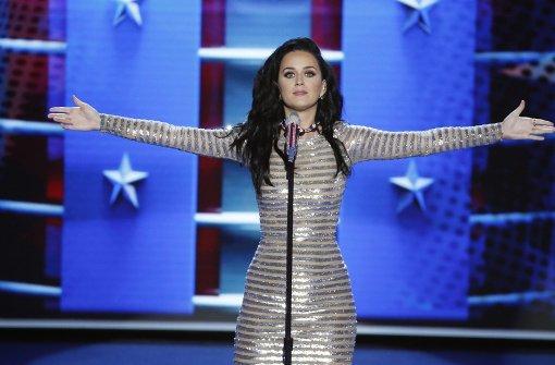 Katy Perry geht in jedem Zustand wählen – auch nackt