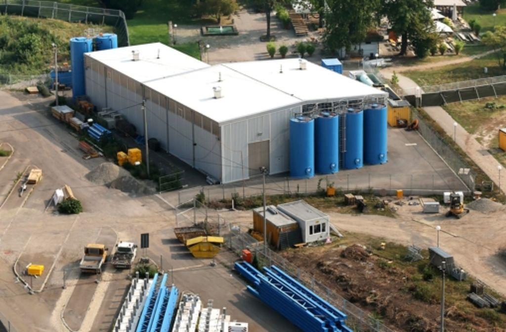 Die Pläne für einen weiteren Ausbau der Grundwasseranlage sollen demnächst öffentlich diskutiert werden. Die Terminplanung dafür steht in der Kritik. Foto: Achim Zweygarth
