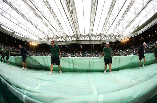 Matches in Wimbledon abgebrochen