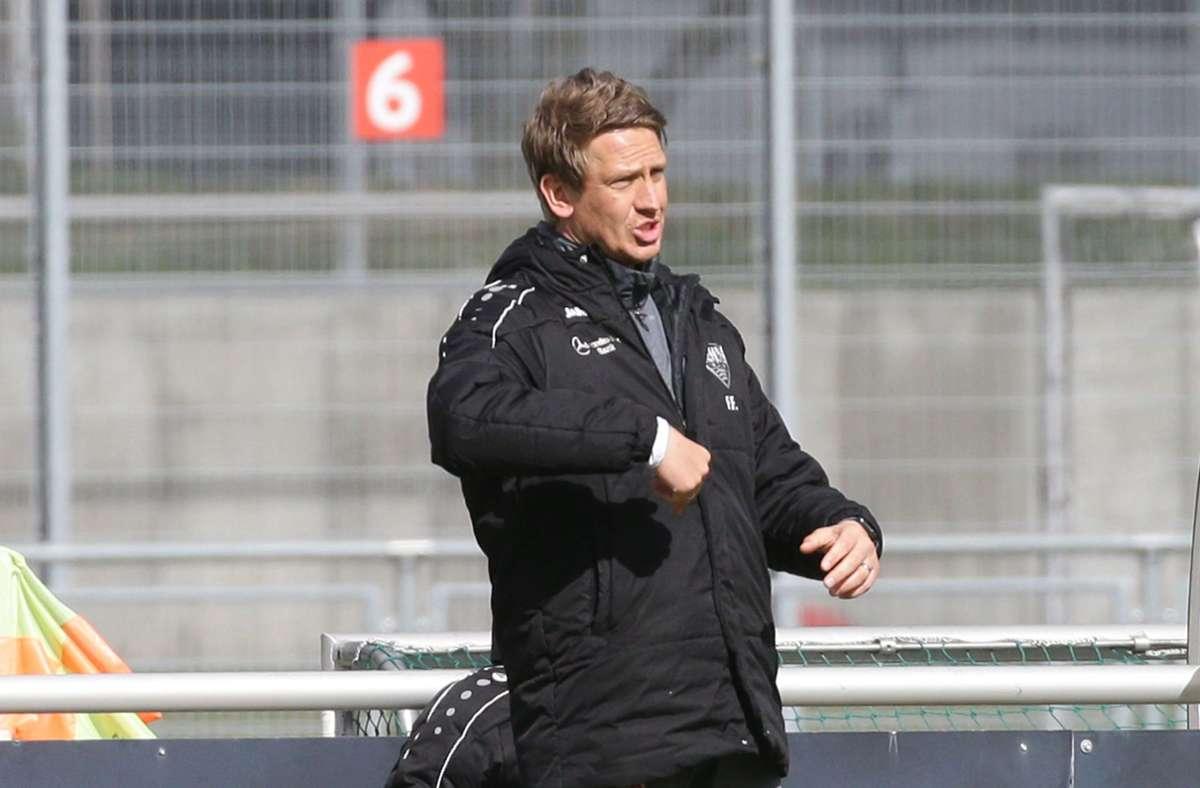 Punkteteilung in Offenbach für Frank Fahrenhorst und den VfB II. Foto: Pressefoto Baumann/Hansjürgen Britsch