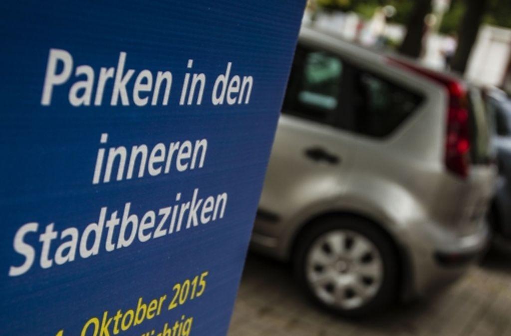 Seit Anfang des Monats gibt es keine kostenlosen Parkplätze in der City mehr. Foto: Lichtgut/Leif Piechowski
