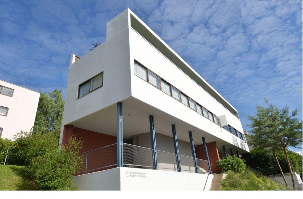 Ein Stuttgarter Wahrzeichen: die Weißenhofsiedlung Foto: dpa