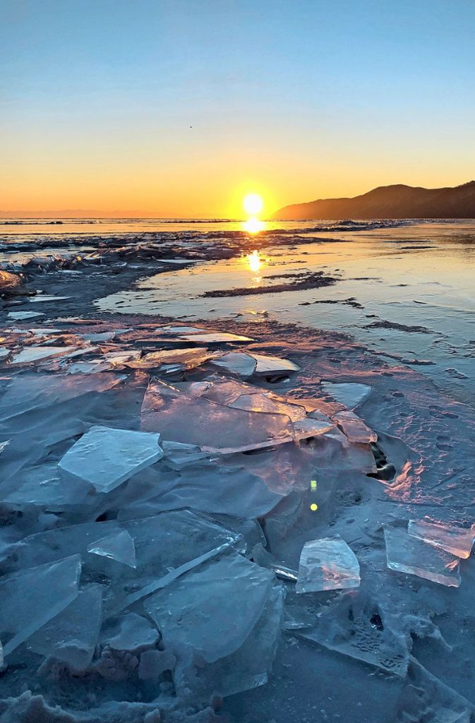 Der Baikalsee in Sibirien ist mehr als 25 Millionen Jahre alt.  Foto: Susanne Hamann