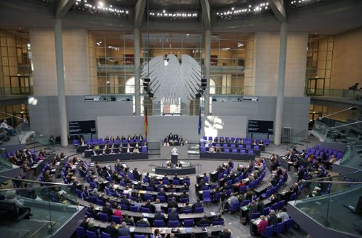Bundestag beschließt  Rekordausgaben