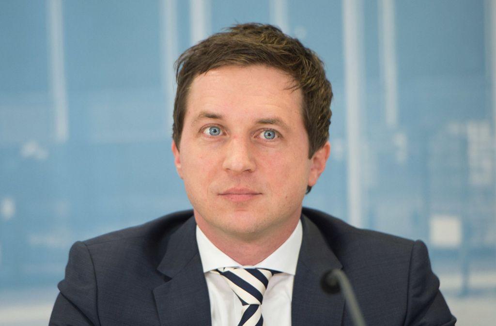 SPD-Fraktionsvize Sascha Binder ist seit 2011 im Landtag. Foto: dpa