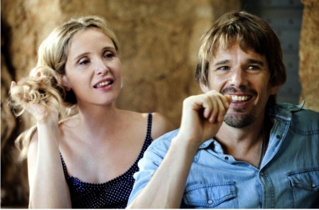 """Ethan Hawke und Julie Delpy in dem Film """"Before Midnight"""" Foto: dpa"""