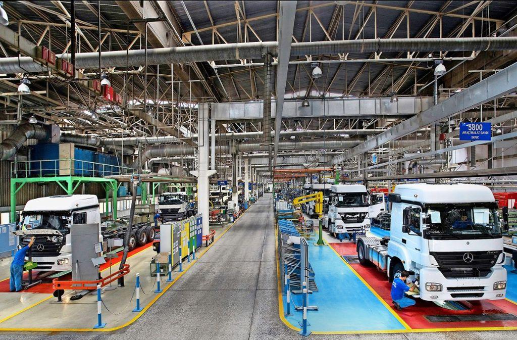 Daimler produziert seit 1967 Lastwagen in der Türkei. Foto: Daimler