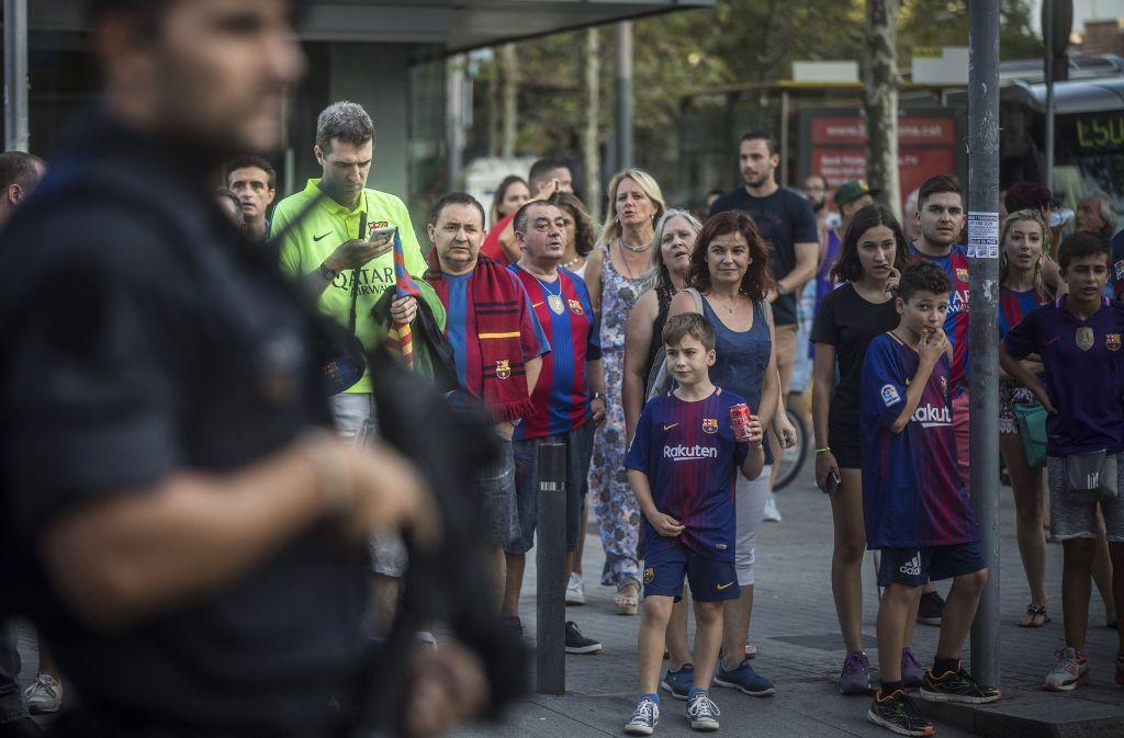 Der Attentäter von Barcelona wurde von den spanischen Behörden identifiziert. (Symbolfoto) Foto: AP