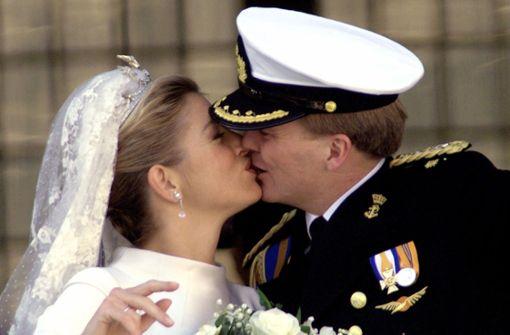Máxima und Willem-Alexander halten den Kuss-Rekord