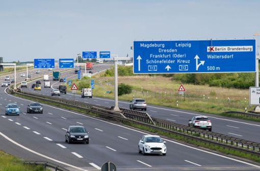 Echte Bundes-Autobahnen