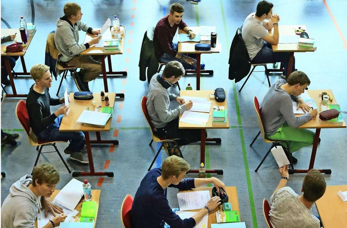 Sind Abiturprüfungen bald  an der Schickhardt Gemeinschaftsschule möglich? Auch Schüler aus anderen Bezirken würden die Oberstufe besuchen. Foto: picture alliance / dpa/Jens Wolf