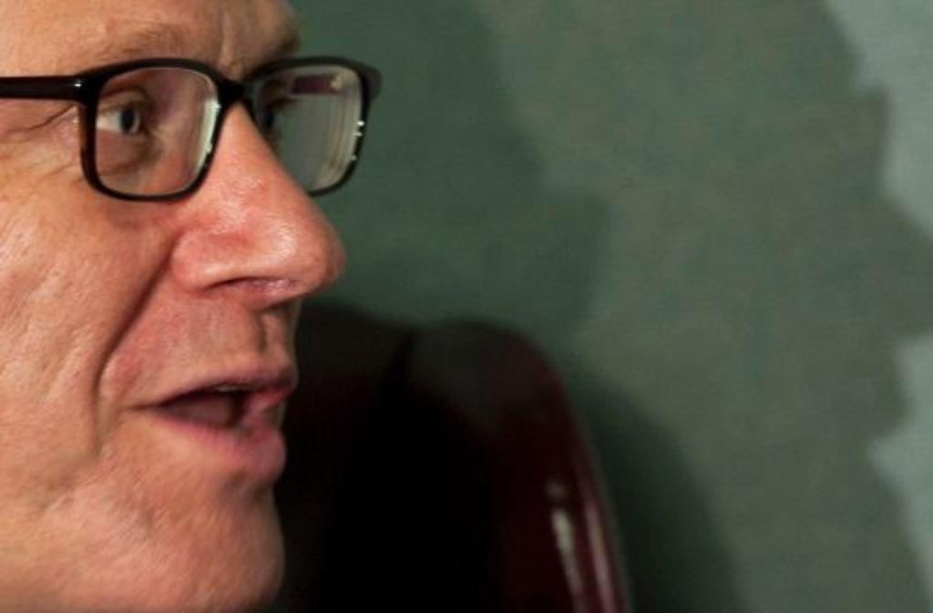 Neue Brille, zurückhaltender Auftritt: Vor den Vereinten Nationen trittAußenminister Westerwelle anders auf als früher. Foto: dapd
