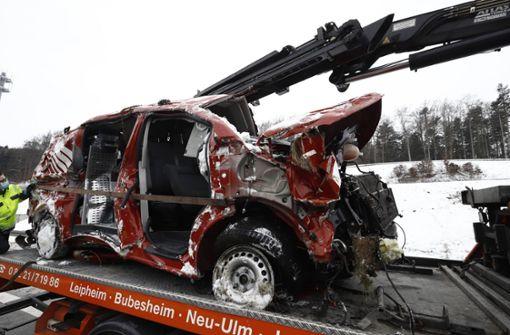 Mann stirbt bei Unfall mit Kleintransporter