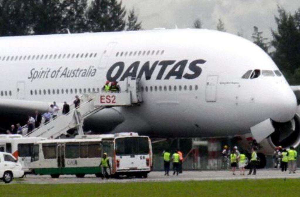 Ab sofort bleiben die Qantas-Flieger am Boden. Foto: dpa