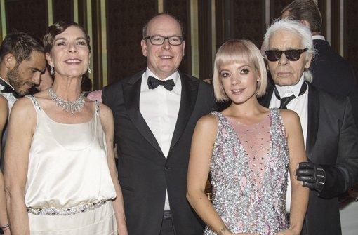Modezar Lagerfeld gestaltet fürstliche Party