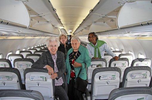 Mit 88 auf dem Jungfernflug nach Hamburg